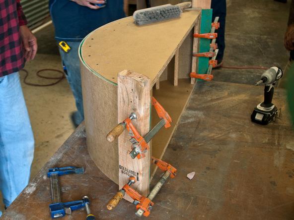 Forming Step 3.3 - Quadra Fire Pit | CHENG Concrete Exchange