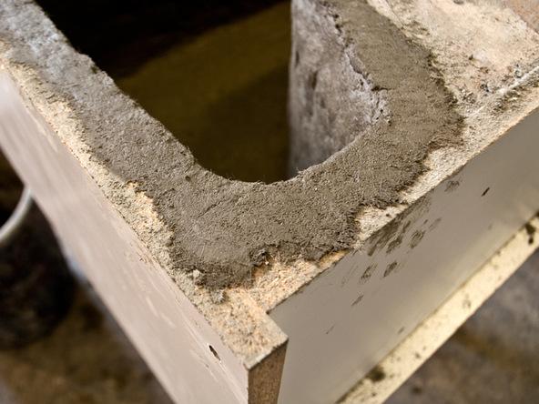 Unforming Step 1.1 - Quadra Fire Pit | CHENG Concrete Exchange