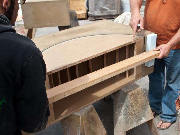 Unforming Step 3.1 - Quadra Fire Pit | CHENG Concrete Exchange