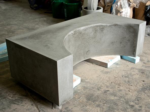 Unforming Step 4.1 - Quadra Fire Pit | CHENG Concrete Exchange