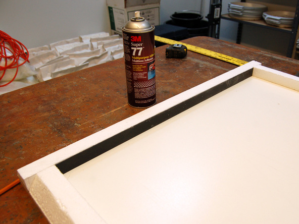 Forming Step 5.1 - Recycled Glass Countertops | CHENG Concrete Exchange