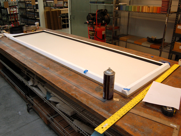 Forming Step 5.2 - Recycled Glass Countertops | CHENG Concrete Exchange