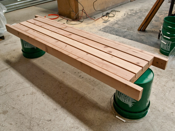 Finishing and Bench Top Step 1.2 - Rhomba Bench | CHENG Concrete Exchange
