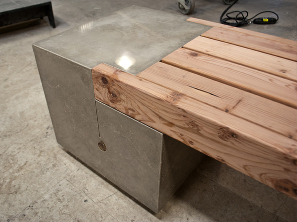 Finishing and Bench Top Step 2.1 - Rhomba Bench | CHENG Concrete Exchange