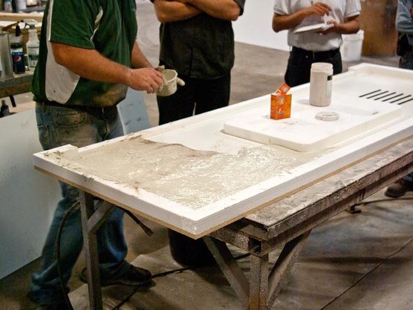 Two Veining Method Concrete Exchange