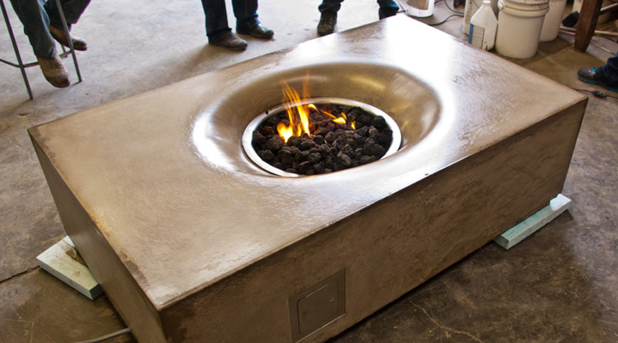 Concrete Fire Table | CHENG Concrete Exchange
