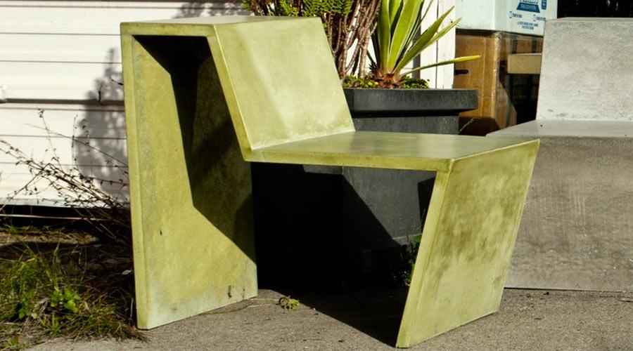 Greenbrae Concrete Chair | CHENG Concrete Exchange