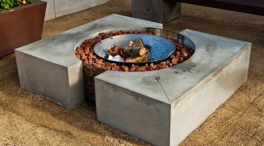 how to make a concrete fire pit cheng concrete exchange