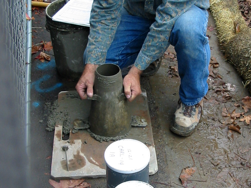 Concrete Slump Test | CHENG Concrete Exchange
