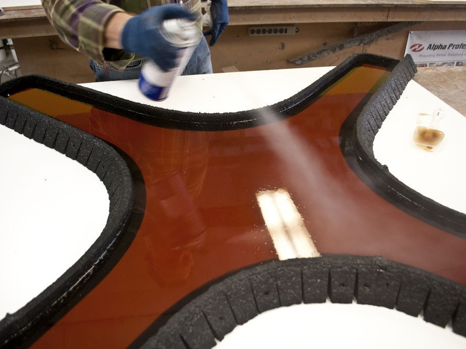 Casting a Polyurethane Rubber Mold - Step 2| CHENG Concrete Exchange
