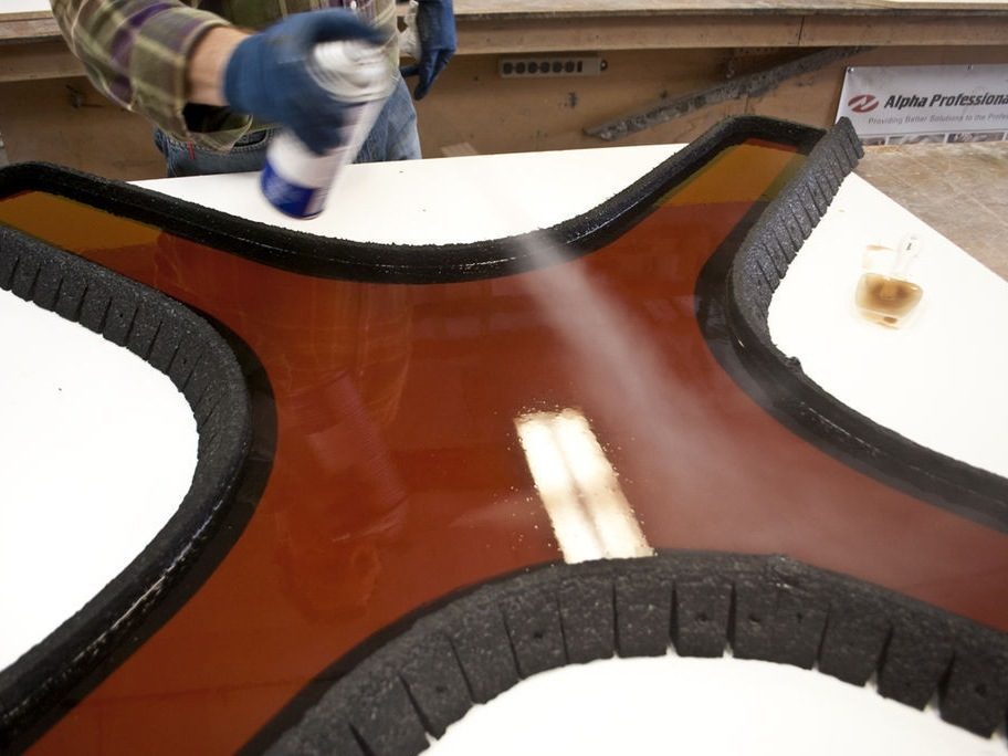 Casting a Polyurethane Rubber Mold - Step 3| CHENG Concrete Exchange