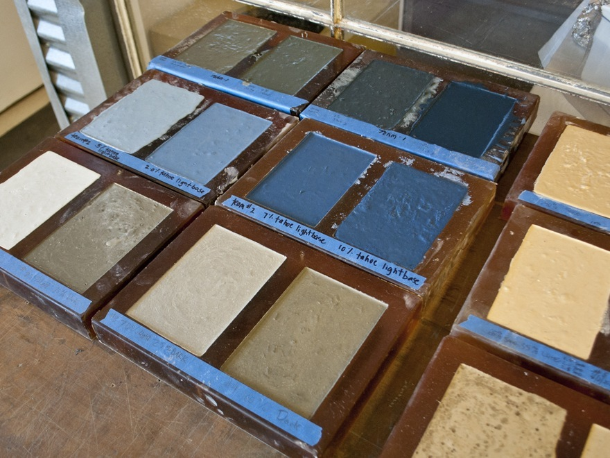 Creating Custom Color Samples - Step 5 | CHENG Concrete Exchange