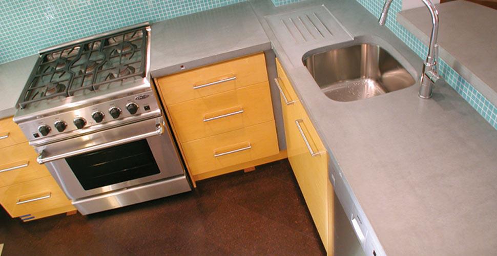 Kitchen Concrete Countertop by dale Blayone | CHENG Concrete Exchange