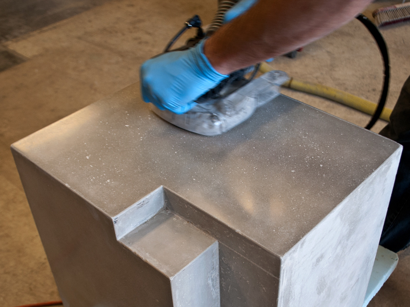 How to fill holes in a concrete countertop concrete exchange for Cheng concrete colors
