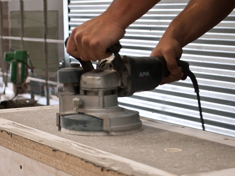 Grinding Concrete - Step 1 | CHENG Concrete Exchange