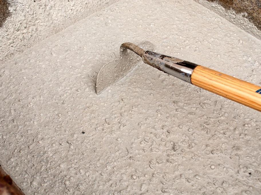 Mixing Concrete in a Wheelbarrow - Step 4 | CHENG Concrete Exchange
