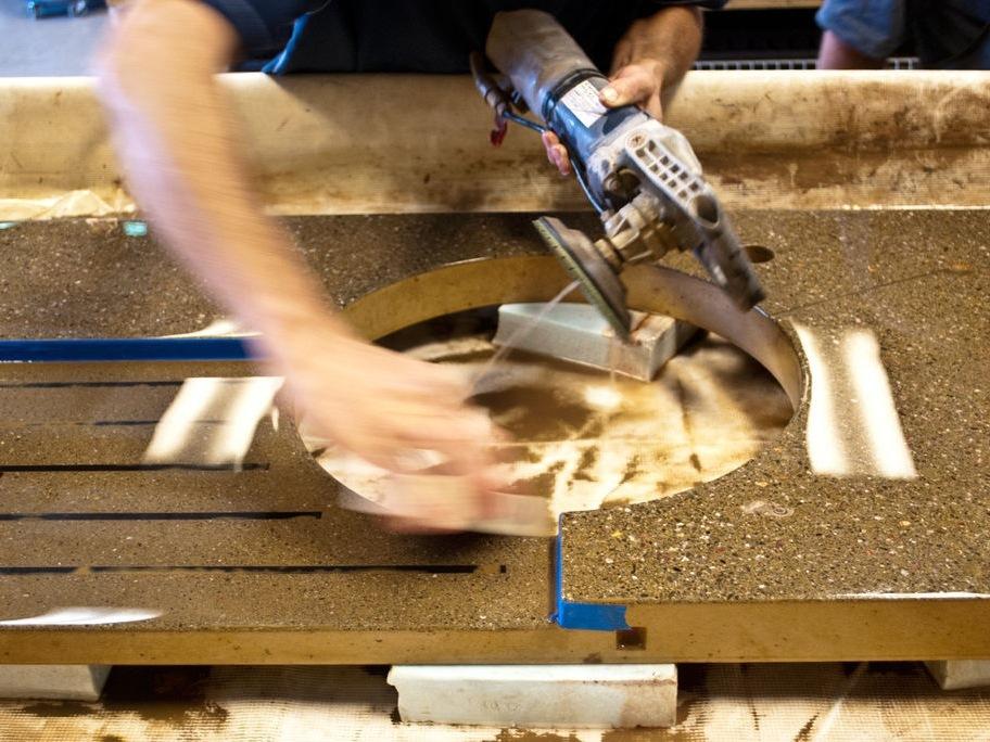 Concrete Polishing - Step 10 | CHENG Concrete Exchange