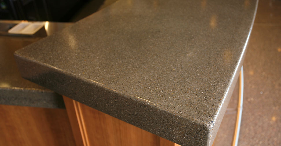 Concrete Bar Top by Curt Meidling | Concrete Exchange