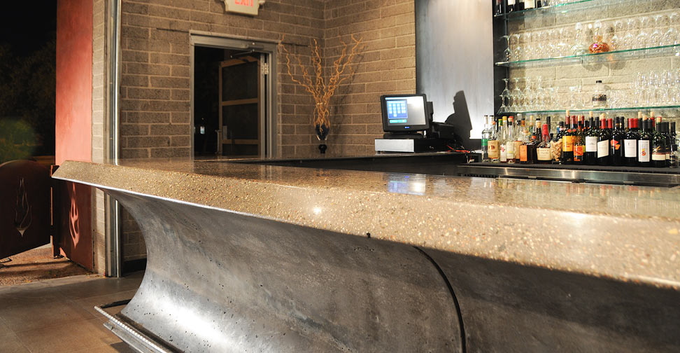 Concrete Bar Top by Cody Carpenter | Concrete Exchange