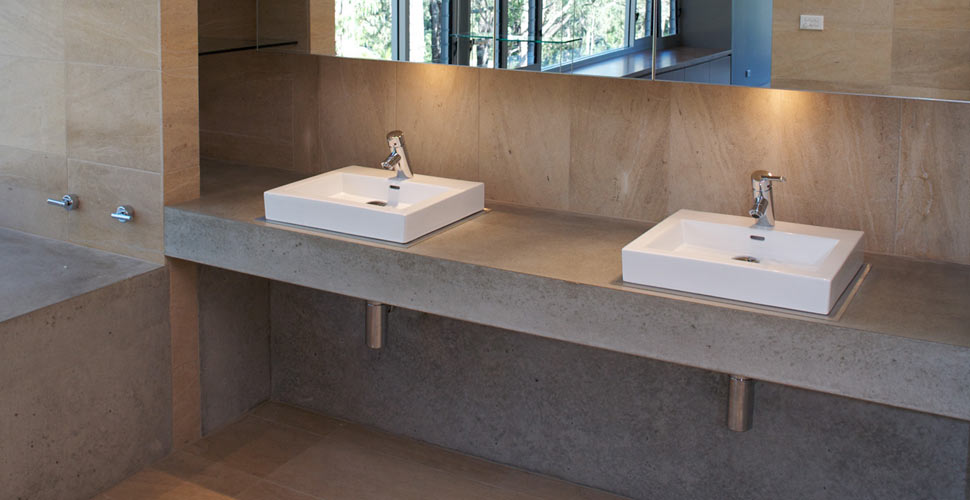 ... Bathroom Concrete Countertop By Phil Markham | CHENG Concrete Exchange