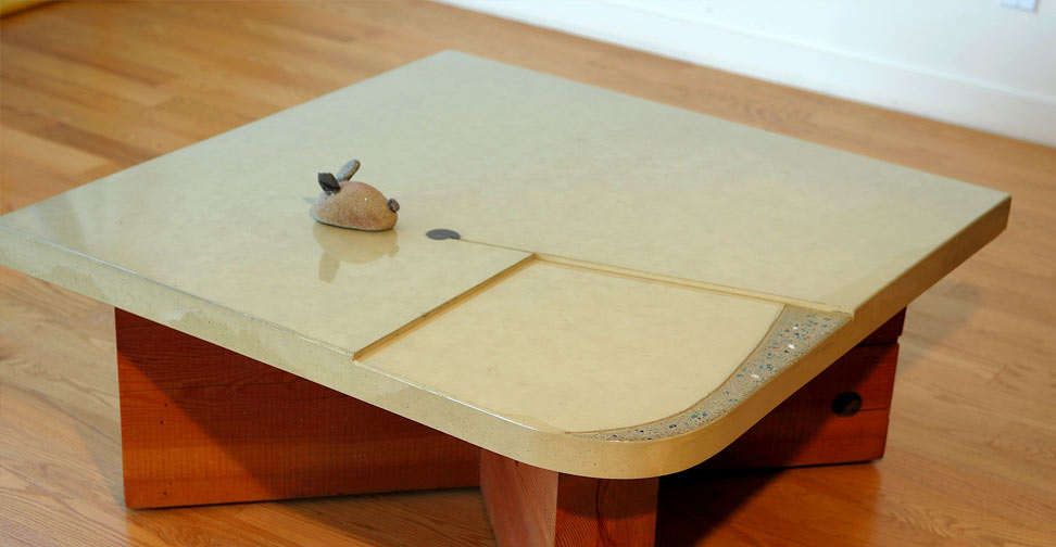 Concrete Coffee Table by Cheolsa Kim | Concrete Exchange
