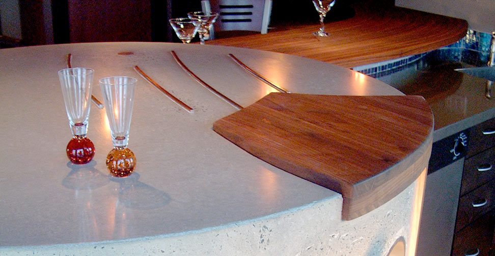Concrete Kitchen Countertop by Eric Boyd | Concrete Exchange