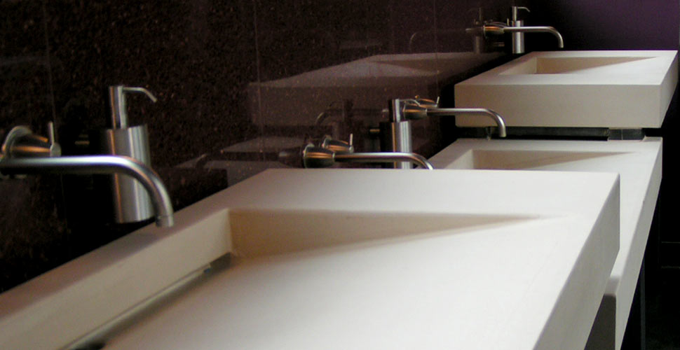 Integral Concrete Sinks by Chris Becker | CHENG Concrete Exchange