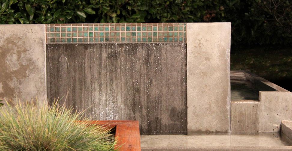 Concrete Water Feature by Darren Endo | Concrete Exchange