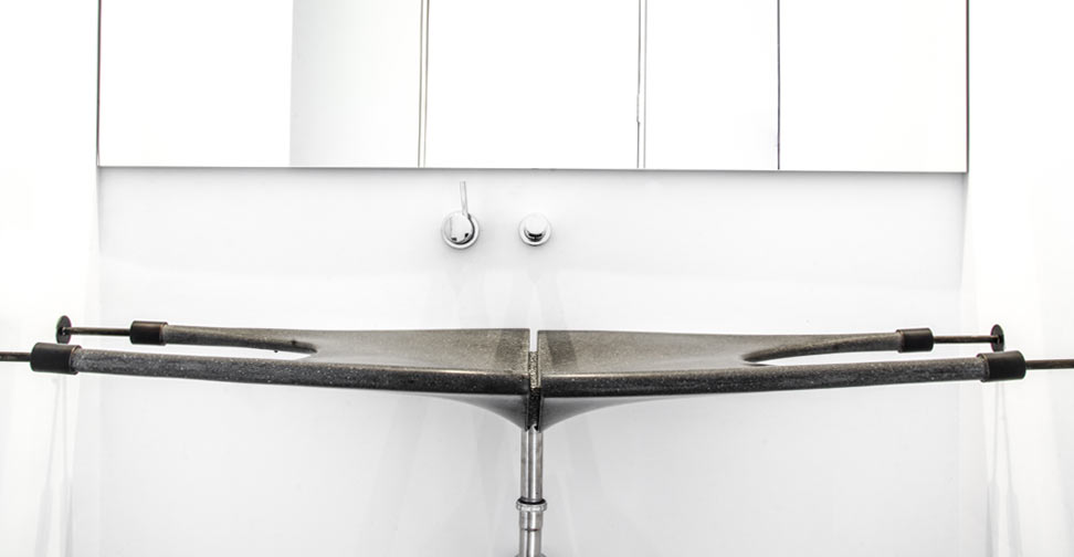 Concrete Web Sink by Cody Carpenter | CHENG Concrete Exchange