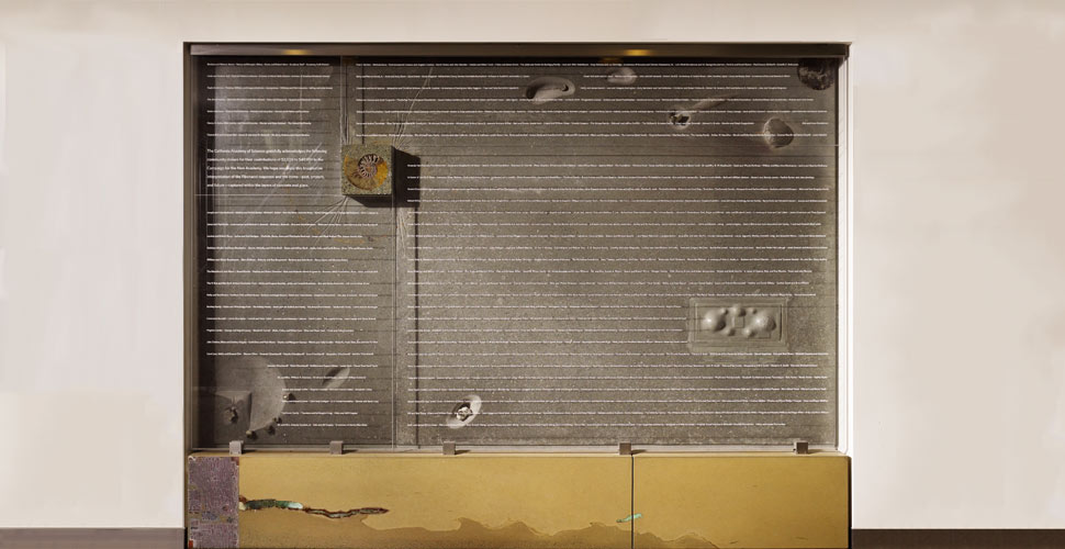 California Academy of Sciences Donor Wall | Concrete Exchange