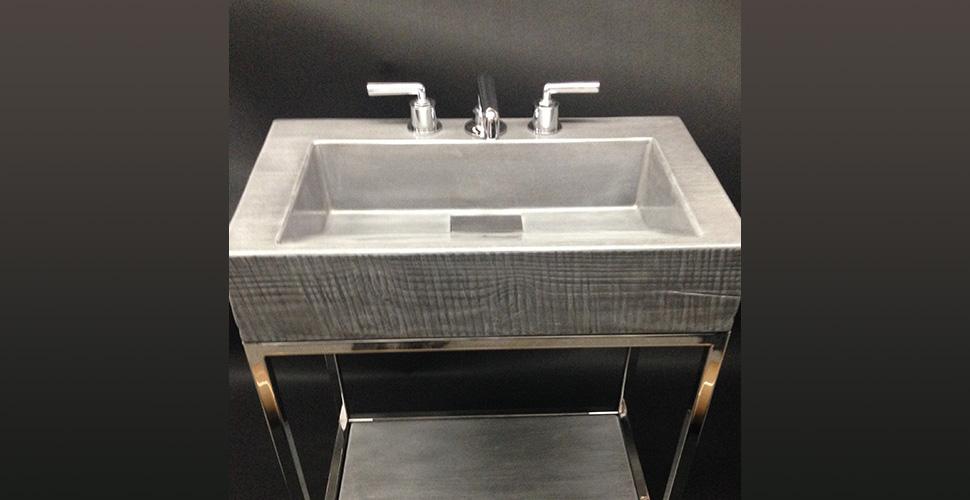 Concrete Ramp Sink | JM Lifestyles | Concrete Exchange