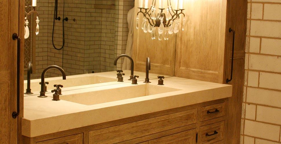 Concrete Bath Vanity | JM Lifestyles | Concrete Exchange