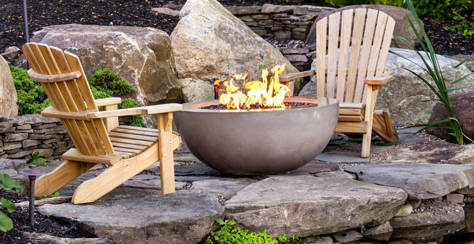 Concrete Fire Bowl | JM Lifestyles | Concrete Exchange