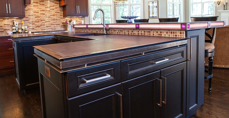 Kitchen Countertop | JM Lifestyles | Concrete Exchange