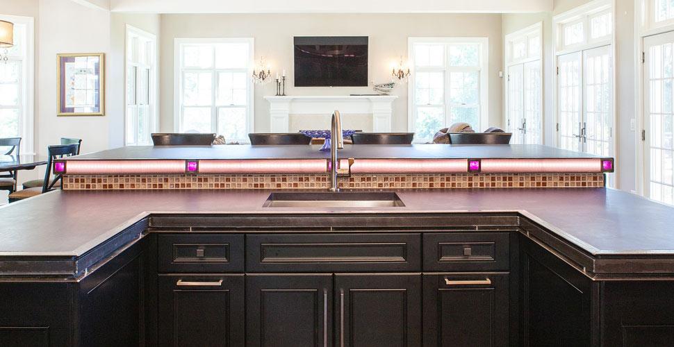 Concrete Kitchen Countertops | JM Lifestyles | Concrete Exchange