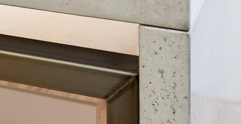 Detail View of Concrete Desk by Paul Wood | Concrete Exchange