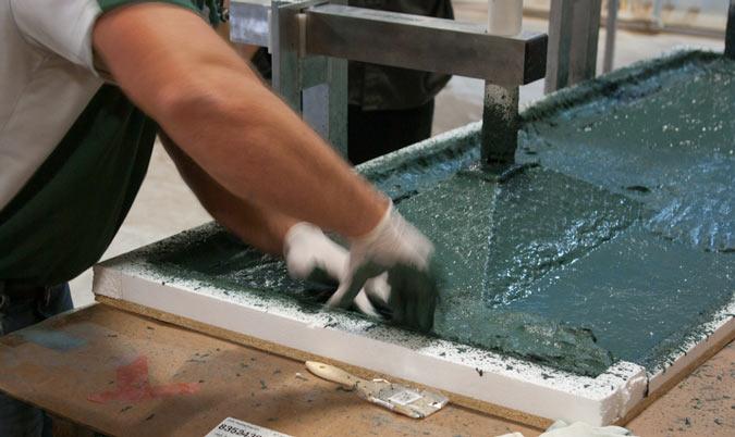 GFRC Concrete Sink Casting | CHENG Concrete Exchange