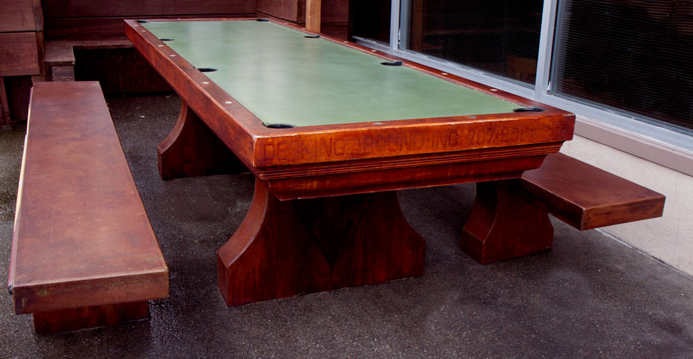 concrete pool table slate 2