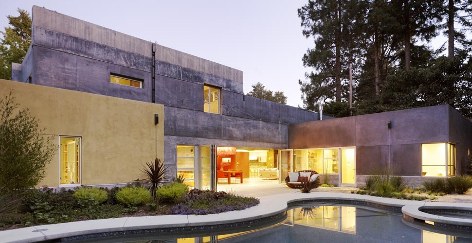 House 6 Custom Concrete Home Exterior by Fu-Tung Cheng | Concrete Exchange