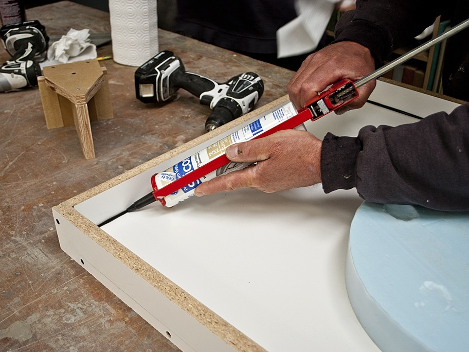 How To Seal A Concrete Countertop Form