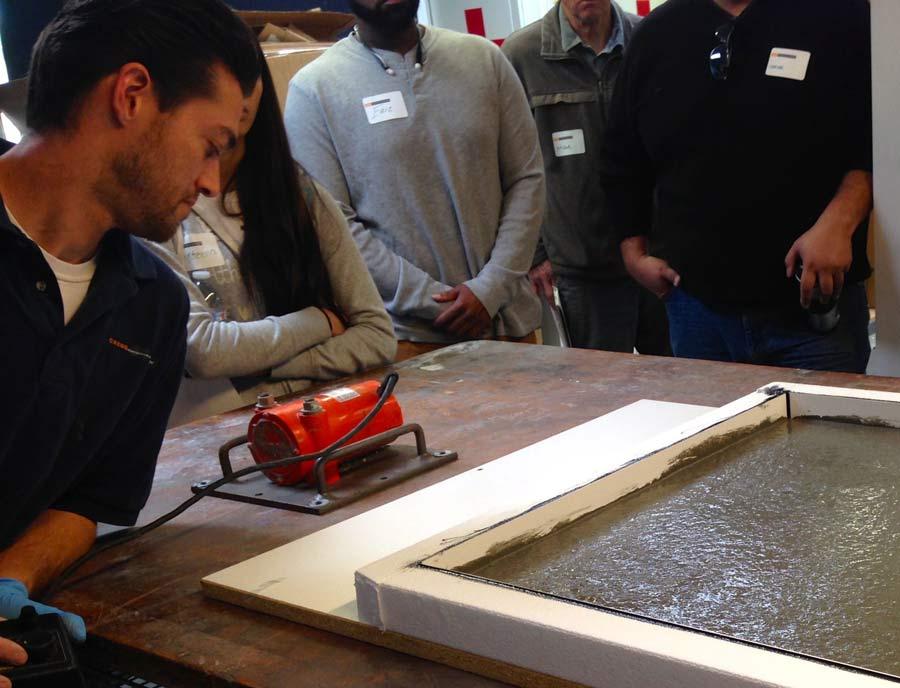 Casting a GFRC Concrete Countertop \ CHENG Concrete Exchange