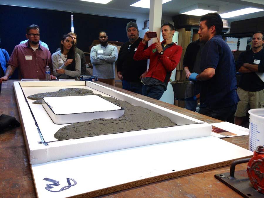Casting CHENG D-FRC Concrete Countertop \ CHENG Concrete Exchange