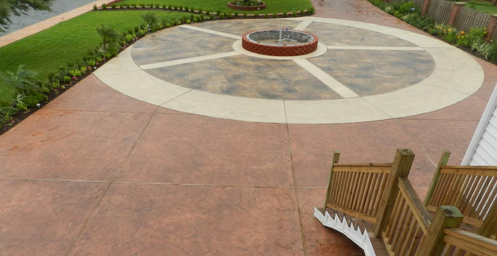 Stamped Artistry Pasadena Tx Concrete Exchange