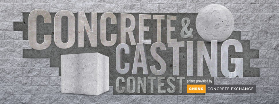 Instructables.com Concrete Casting Contest | CHENG Concrete Exchange