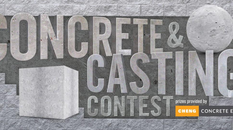 Instructables.com Concrete Casting Contest | CHENG Concrete Exchange