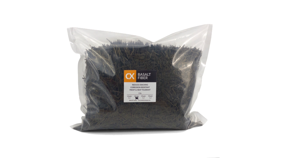 Bag of CX chopped basalt fiber